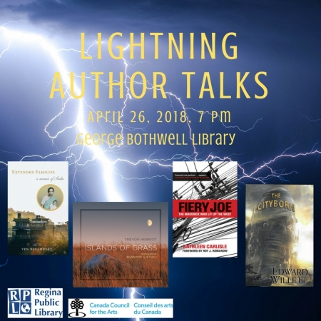Lightning Author Talks